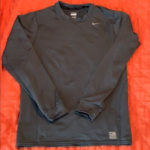 Nike pro fitted long sleeve shirt